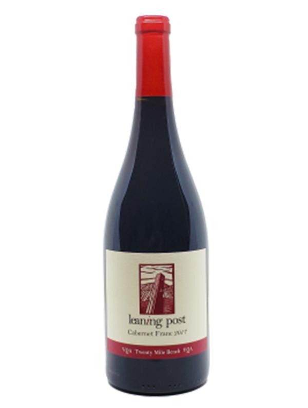 bottle of cabernet franc