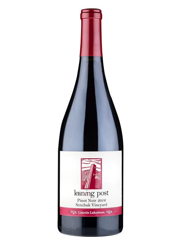 bottle of pinot noir senchuk vineyard