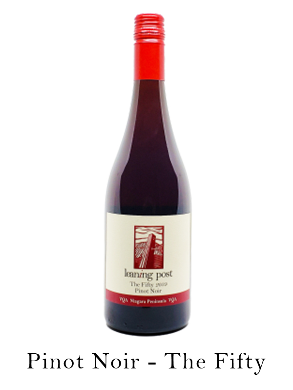 bottle of pinot noir the fifty
