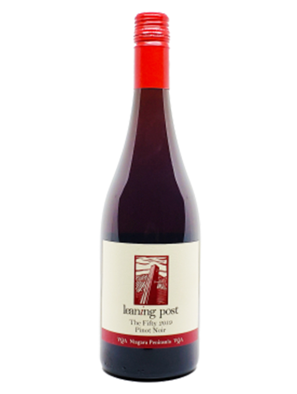 bottle of the fifty pinot noir