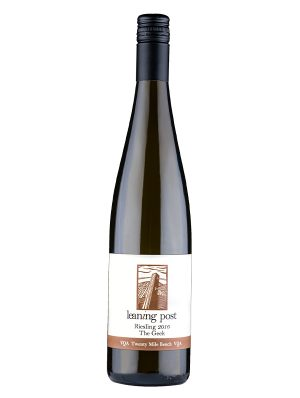 bottle of Riesling - The Greek