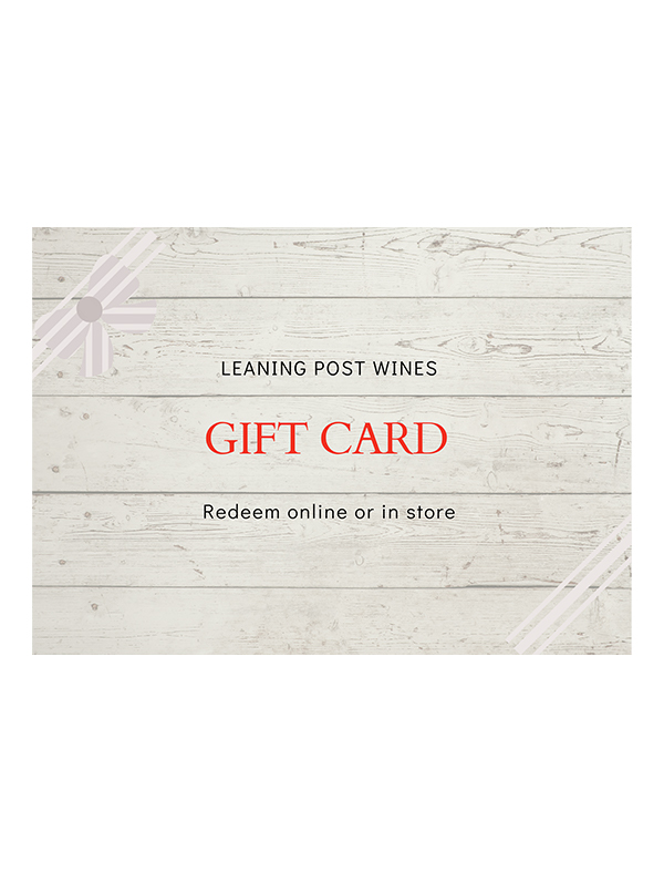 gift card with wood background