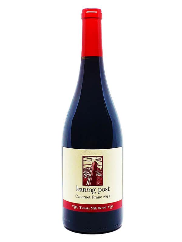 bottle of vintage cabernet franc