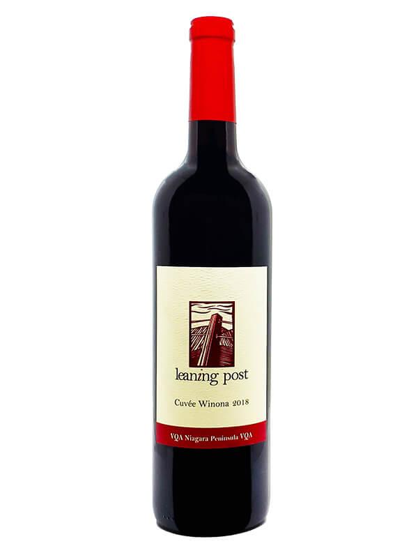 bottle of vintage cuvee winona